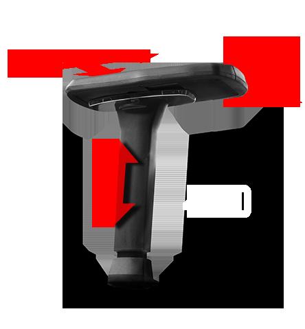 Reposabrazos ajustable 4D